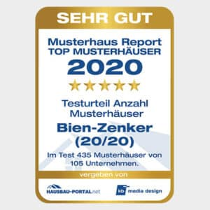 Bien Zenker Siegel MuHa Report 2020 Fertighausbewertung 16. April 2021