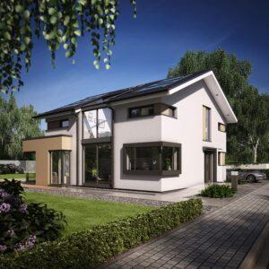 CONCEPT M 153 Stuttgart Garten 1  fertighausbewertung 22. Oktober 2020