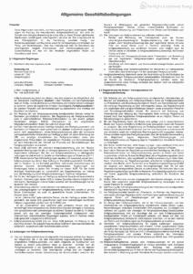 Allgemeine Geschäftsbedingungen 1  fertighausbewertung 4. Dezember 2020