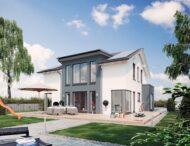 Livinghaus Chemnitz Exterior Final 16220 weiss 2  fertighausbewertung